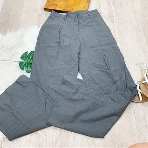 Brooks Brothers Pants - Brooks Brothers Wool Wide Leg Career Pants D1366
